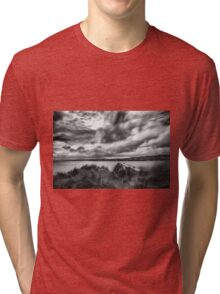 Lough Foyle View Tri-blend T-Shirt