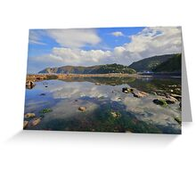 Exmoor: Lynmouth Reflections Greeting Card