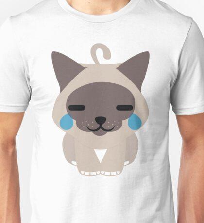 Birman Cat Emoji Teary Eyes with Joy Look Unisex T-Shirt