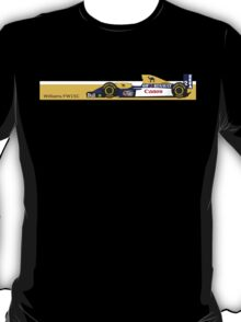 1993 Williams FW15C Formula 1 race car piloted by Alain Prost and Damon Hill T-Shirt