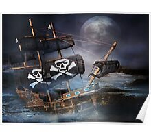 PIRATE GHOST SHIP Poster