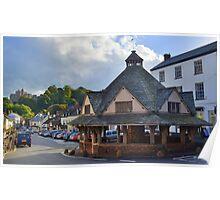 Exmoor: Dunster Yarn Market Poster