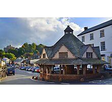 Exmoor: Dunster Yarn Market Photographic Print
