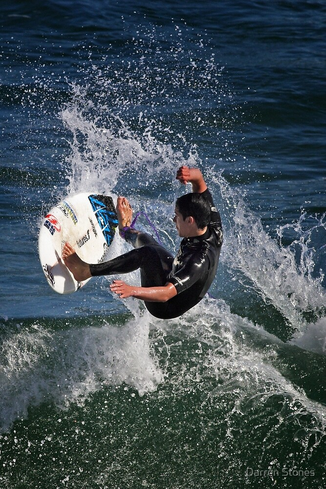 Surfing at Torquay by Darren Stones