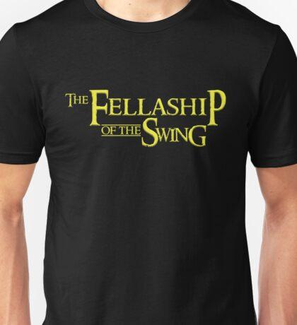 The Fellaship of the Swing Unisex T-Shirt