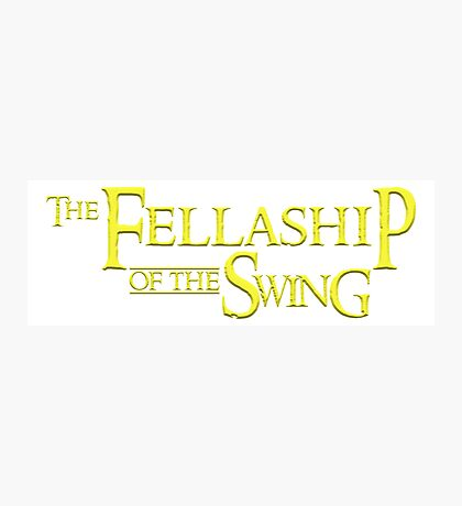 The Fellaship of the Swing Photographic Print