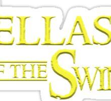 The Fellaship of the Swing Sticker