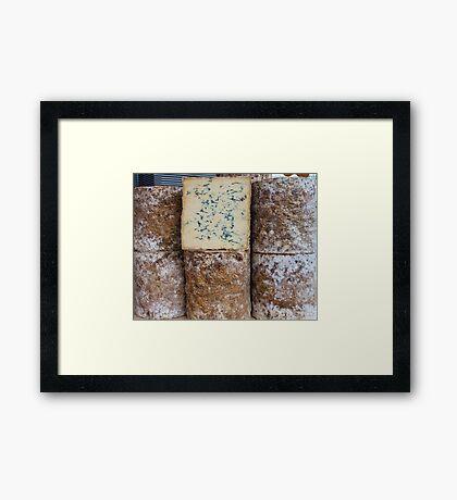 Blue vein Framed Print