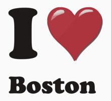 I Love Boston by ColaBoy