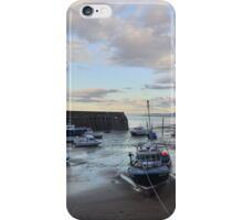 Exmoor: Low Tide at Minehead Harbour iPhone Case/Skin