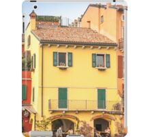 The yellow building iPad Case/Skin