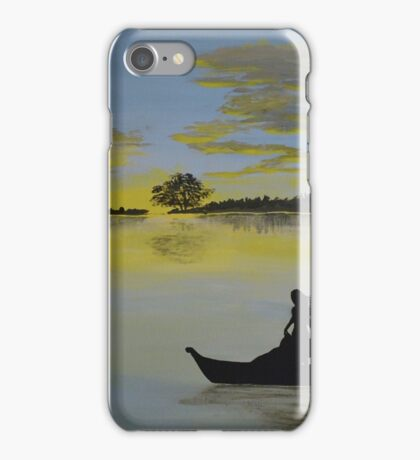 Serenity at Sunset iPhone Case/Skin