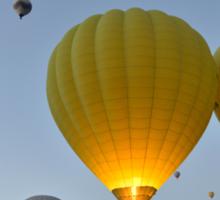 Takeoff - Cappadocia, Turkey Sticker