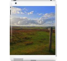 Exmoor: Path Across the Moor iPad Case/Skin