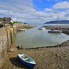 Exmoor: Low Tide at Porlock Weir by Rob Parsons