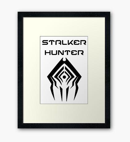 Stalker Killer Framed Print