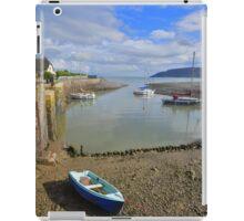 Exmoor: Low Tide at Porlock Weir iPad Case/Skin