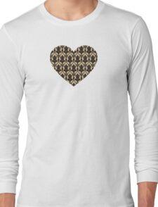 Baker Street 221b Wallpaper Long Sleeve T-Shirt
