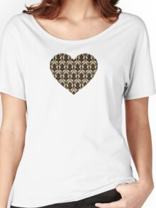 Baker Street 221b Wallpaper Women's Relaxed Fit T-Shirt