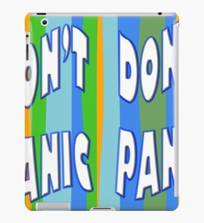 Dont Panic iPad Case/Skin