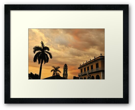 Plaza Mayor at Sunset - Trinidad, Cuba by Kasia Nowak