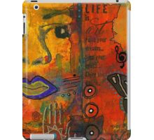 Paint Your Dreams, Ms Angela iPad Case/Skin