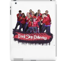 Don't Stop Believing || Glee iPad Case/Skin