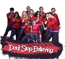 Don't Stop Believing || Glee by linked-pinkies