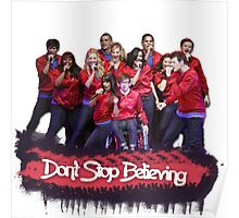 Don't Stop Believing || Glee Poster