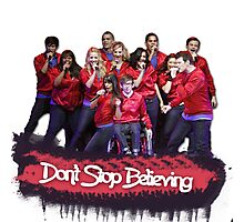 Don't Stop Believing || Glee Photographic Print