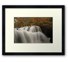 Brush Creek Falls Framed Print