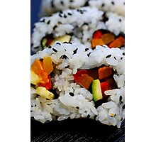 California Roll Sushi  Photographic Print