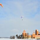 Trakai Castle - Lithuania by Kasia Nowak