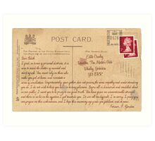 Dear Edith Crawley Art Print