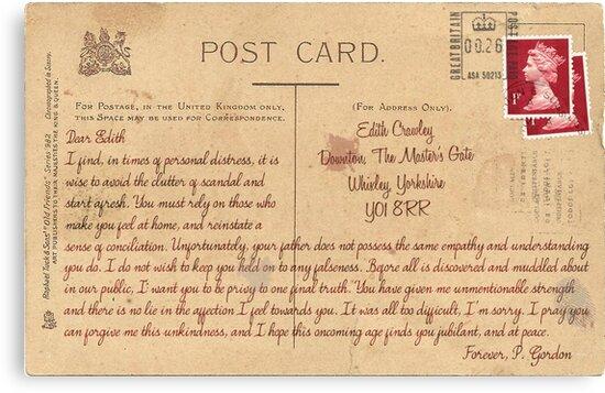 Dear Edith Crawley by ArmaanKapur