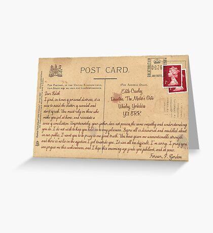 Dear Edith Crawley Greeting Card