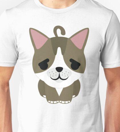 American Short Hair Cat Emoji Pretty Please Face Unisex T-Shirt