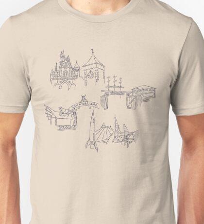 Lands of Imagination #1 Unisex T-Shirt