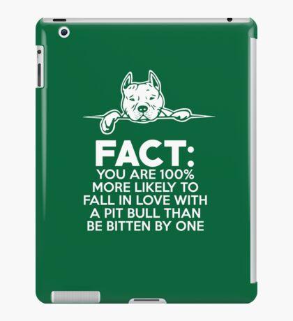 Pit Bull Fact Love  iPad Case/Skin