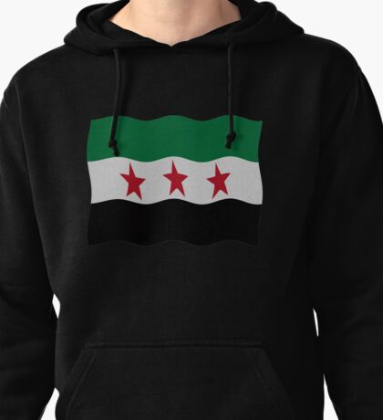 Syrian Republic 1932-59 1961-63 Pullover Hoodie
