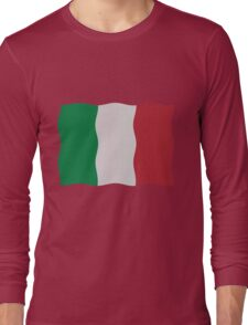 Italian flag Long Sleeve T-Shirt