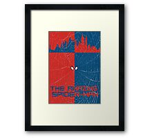 The Amazing Spider-Man Minimalist Poster Framed Print