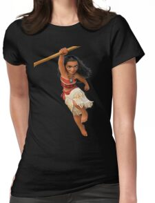 Moana 1 Womens Fitted T-Shirt