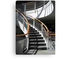 Stairway Shadows Canvas Print