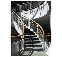 Stairway Shadows Poster