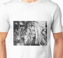 The Depth Of Self-delusion, 2016, 50-70cm, graphite crayon on paper Unisex T-Shirt