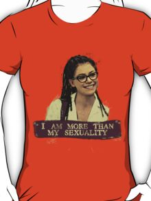 I am more than my sexuality    Cosima T-Shirt