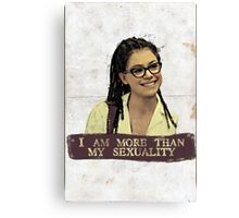 I am more than my sexuality || Cosima Canvas Print