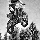 Got Some Air! - Motocross Racer by NaturePrints