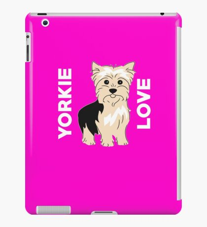 Yorkie Love Cute  iPad Case/Skin